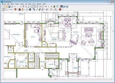 Computer house plans software