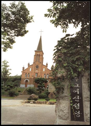 가톨릭의 힘이 지역의 역사가 된 여산성당 사진