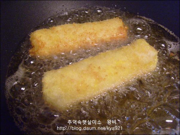 식빵으로 만든 핫도그