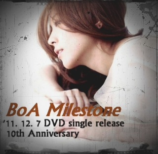 BoA - Milestone (11.12.7 Release DVD SINGLE)