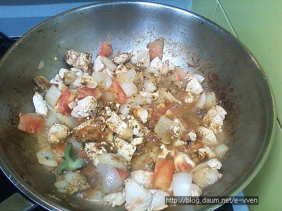 강황밥 만들기7