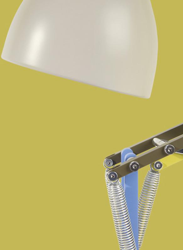 앵글포이즈(Anglepoise) 테이블 램프 디자인