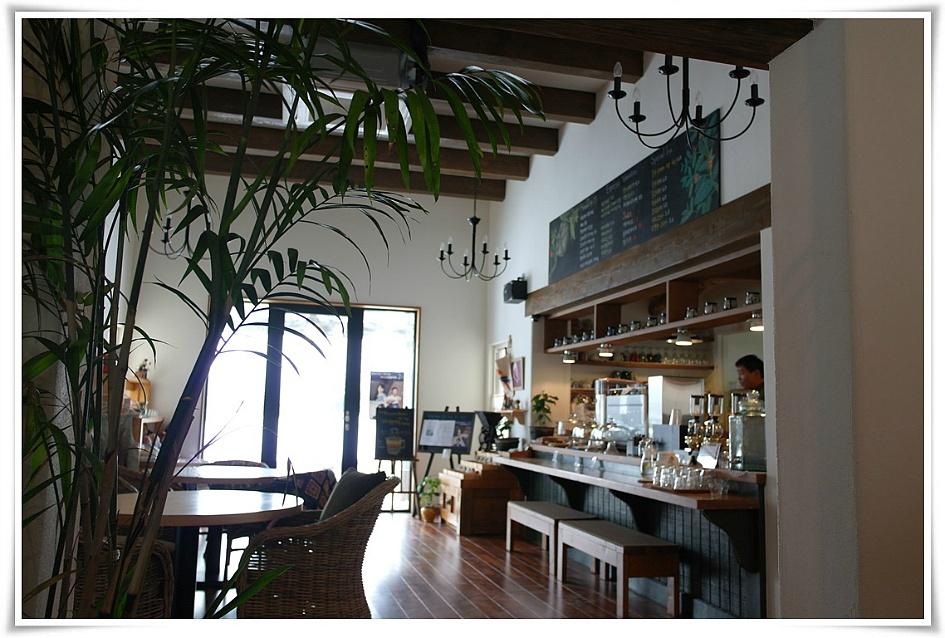 카페의 내부 모습
