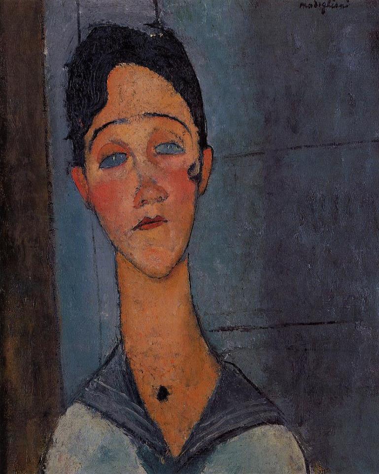 아메데오 모딜리아니의 작품세계 Ⅳ [1918]- Amedeo Modigliani