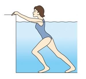 무릎통증과 허리통증에 좋은 수중 운동