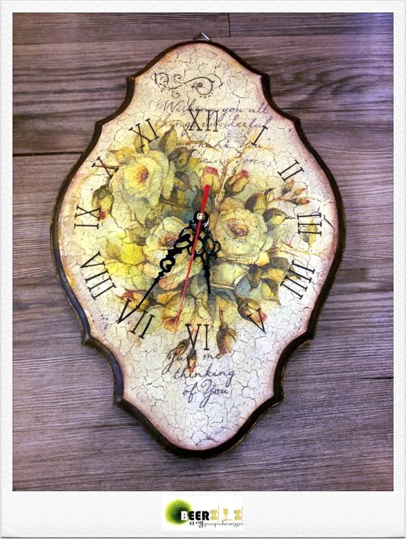 """[이벤트]발렌타인데이 원데이클래스 """"냅킨아트 시계만들기"""""""