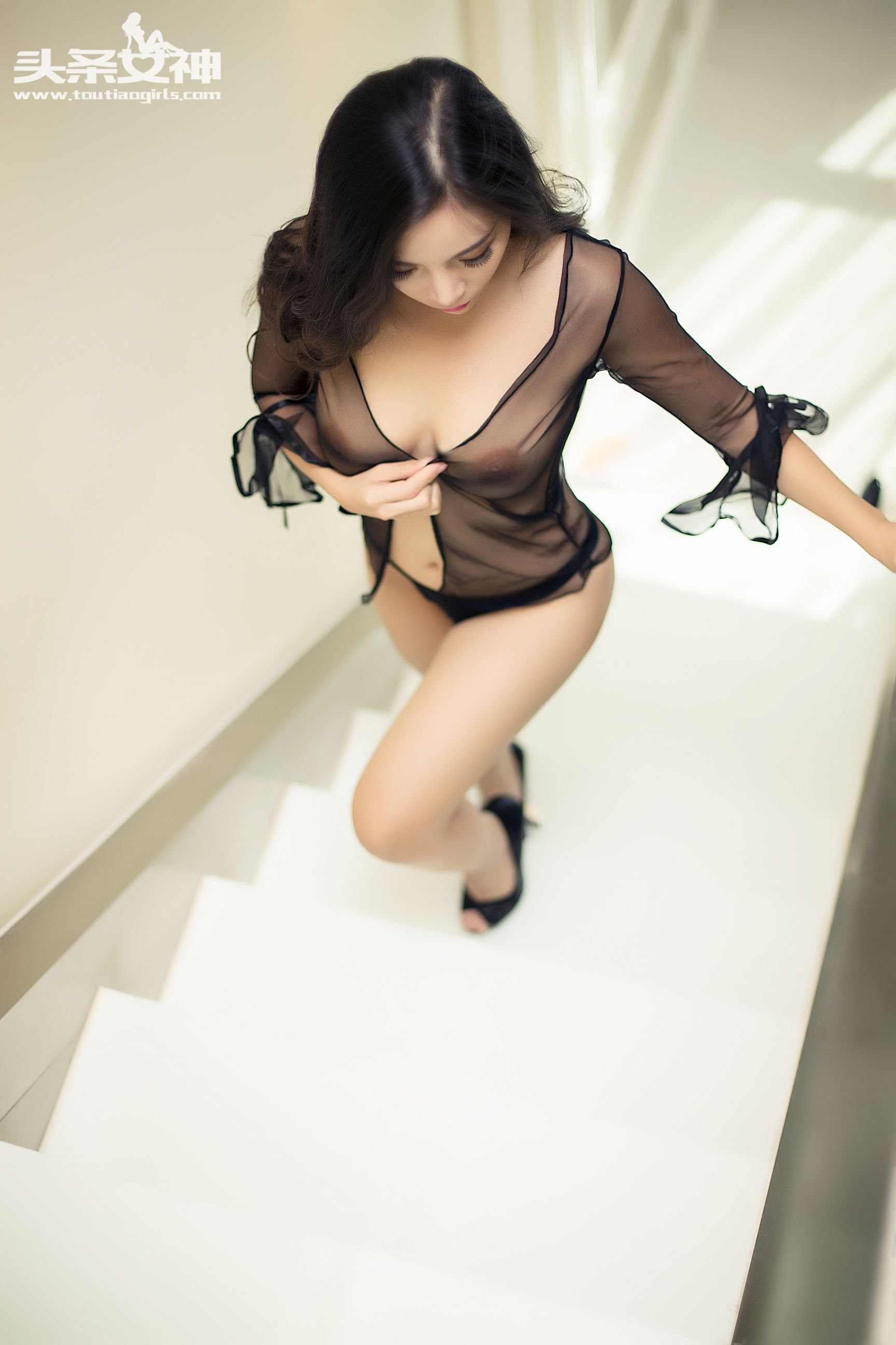 hot lingerie Chinese curvy girl